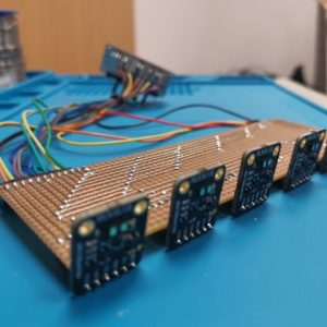 Matrix optischer Abstandssensoren