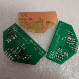 Akku-Laderegler für LED Leuchtmittel